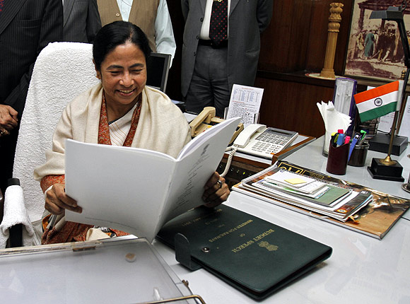 Mamata Banerjee seems nostalgic about her stint in the Union railway ministry.