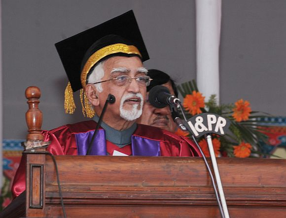 Why Hamid Ansari is the best person to be Vice President