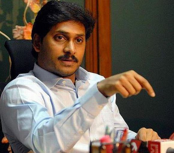 YSR Congress chief Jaganmohan Reddy