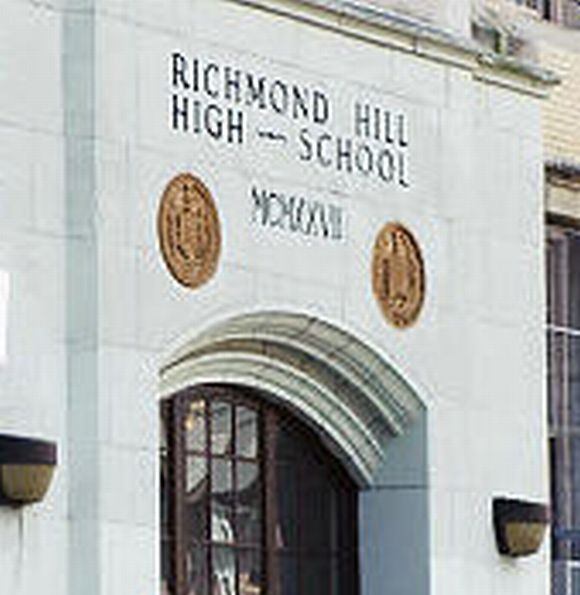 Richmond Hill High School in Queens, New York