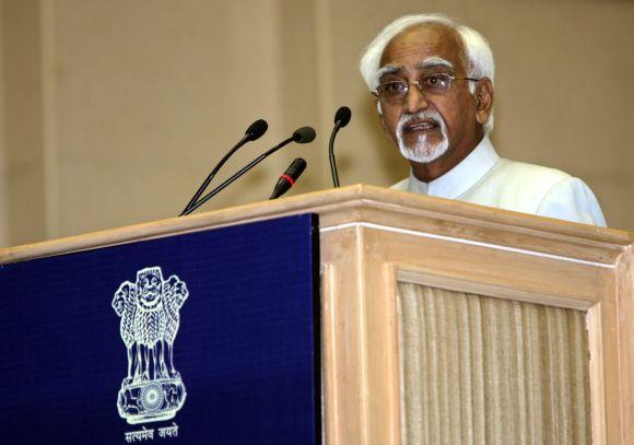 Vice President Hamid Ansari at a function in New Delhi