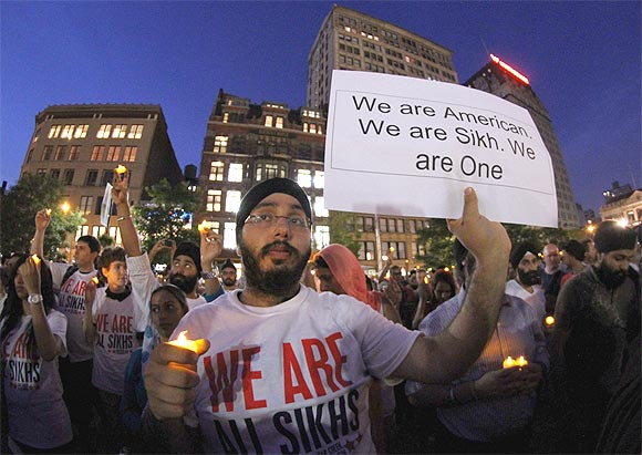 Thousands participated in the vigil at Union Square Park in New York
