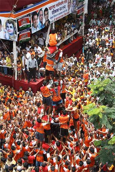 PHOTOS: Mumbai celebrates Janmashtami with vim and vigour