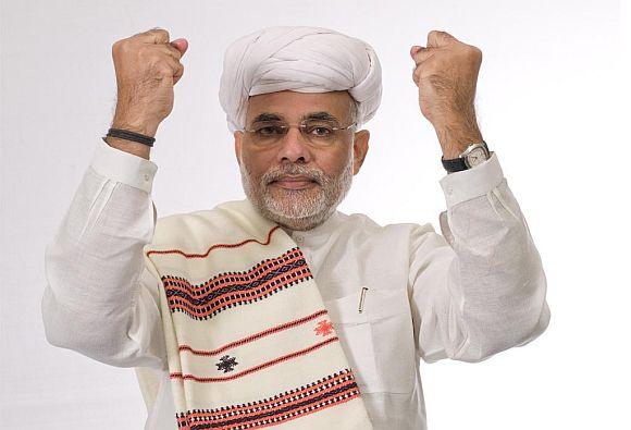 'The subtle emotion of Hindutva is helping Modi'