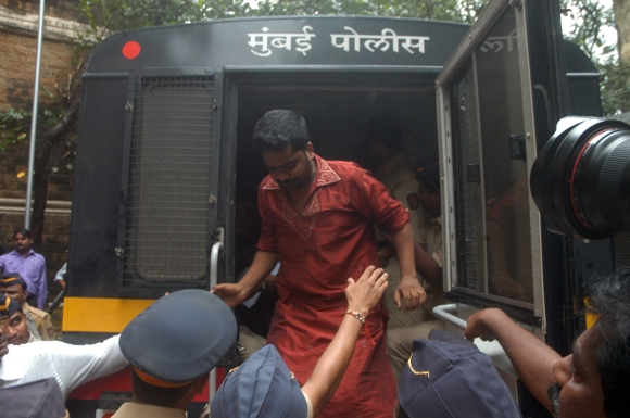 One of the suspects held for the violence in Mumbai