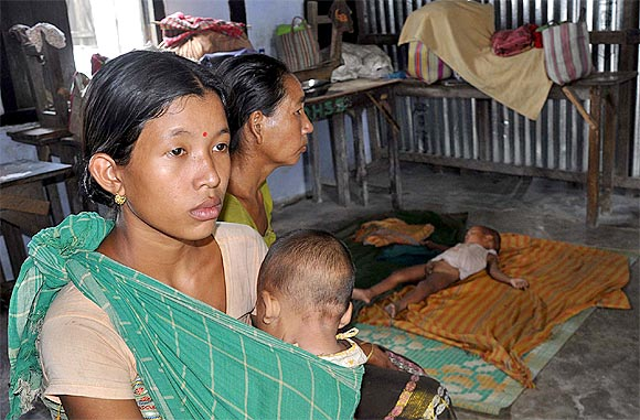 The everyday battle inside Assam's relief camps