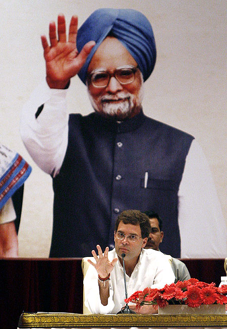 Rahul Gandhi does not want to join the Cabinet just yet.