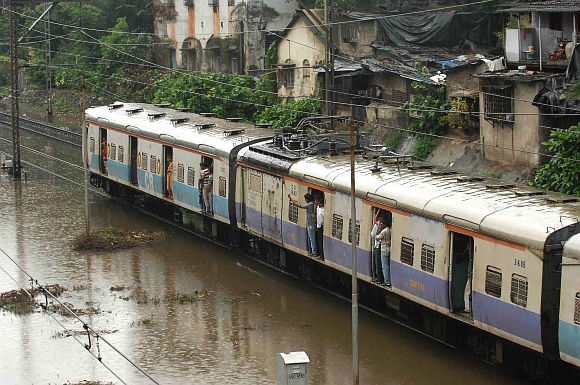 IN PICS: Mumbai waterlogged after heavy rains