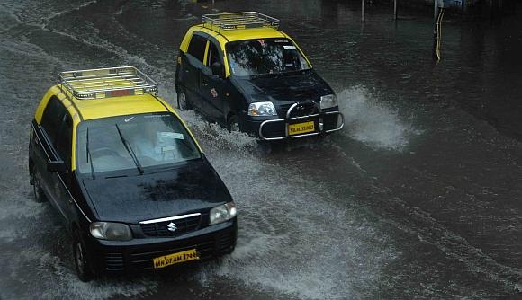 IN PICS: Mumbai waterlogged after heavy rains