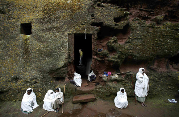 AMAZING photos: Inside Ethiopia's rock churches