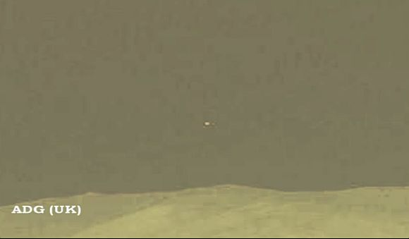 Curiosity buzz: UFOs zooming across Mars?