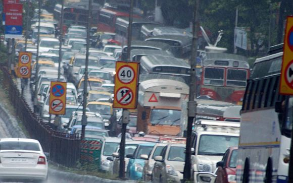 Heavy rains leave Mumbai limping