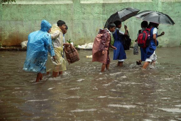 In PHOTOS: Heavy rains leave Mumbai limping