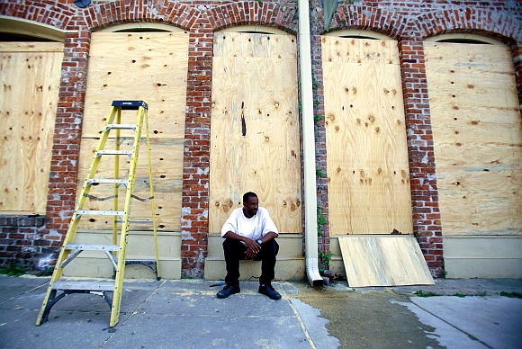 PICS: Isaac brings back memories of killer Katrina