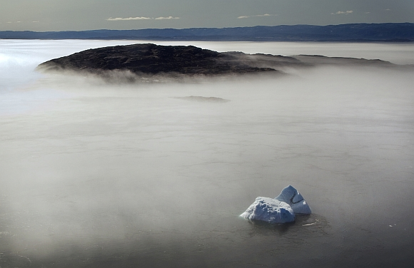 IN PICS: The disappearing Arctic ice cap