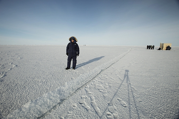 IN PICS: World's slowly disappearing Arctic ice cap