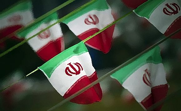 The Iranian flag