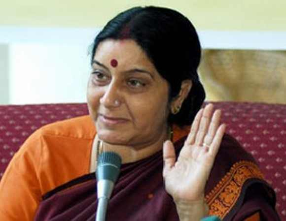Lader of the opposition and senior BJP leader Sushma Swaraj