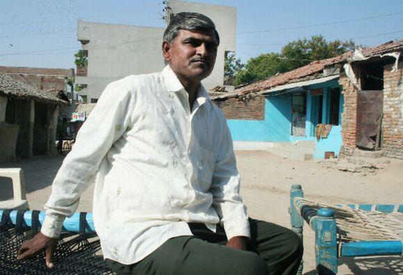 Mahadevbhai, who had pledged some of his land to moneylenders