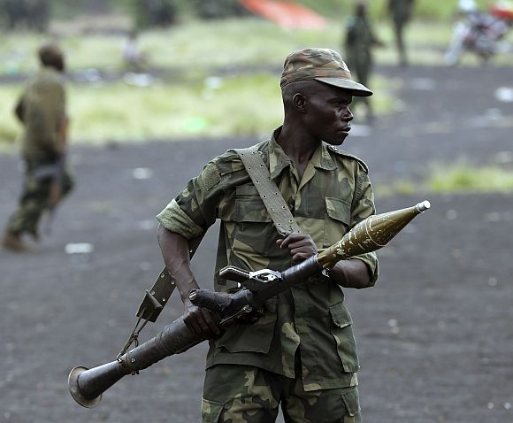 Democratic Republic of Congo -- Rank 5