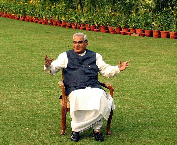 Atal Bihari Vajpayee, the Bharatiya Janata Party's prime minister between 1998 and 2004