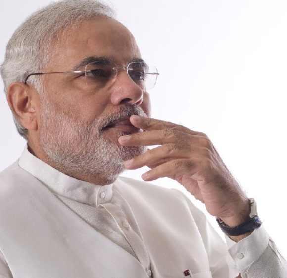 Gujarat Chief Minister Naredra Modi