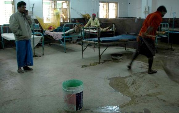 The Milki Health Centre in Malda