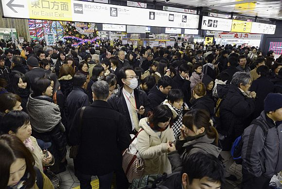 Powerful 7.3 quake jolts Japan