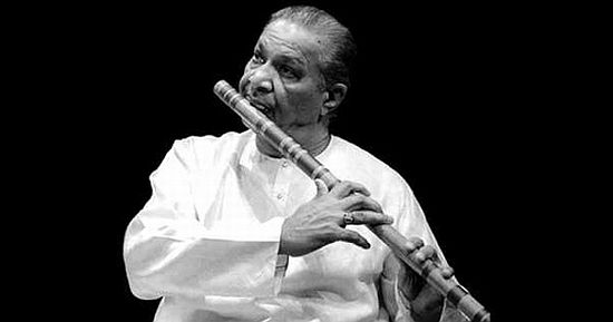 Flautist Hari Prasad Chaurasia