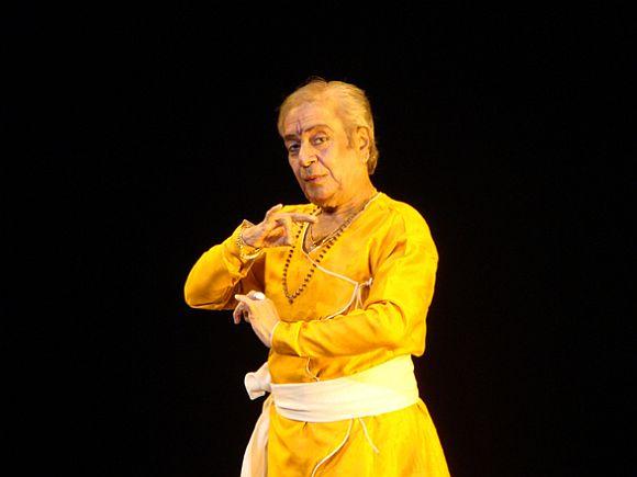 Kathak exponent Pt Birju Maharaj