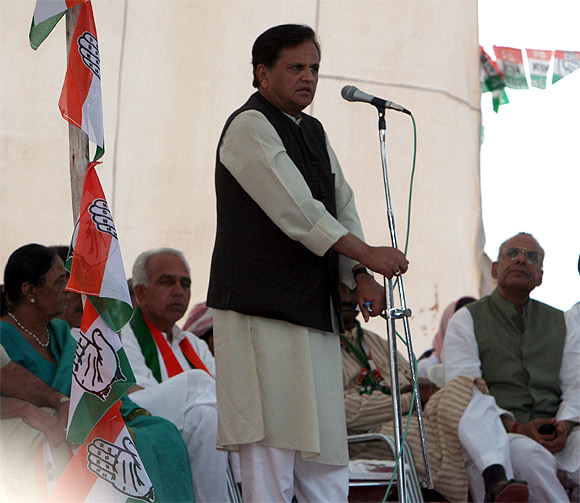 Sonia Gandhi's political advisor Ahmed Patel hopes to retain his hold over Bharuch.