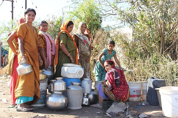 Water is a major issue in Saurashtra