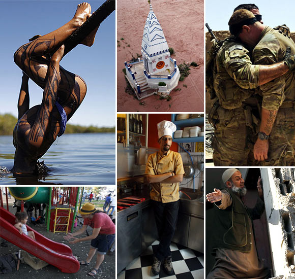 In PHOTOS: The most INCREDIBLE moments of 2012