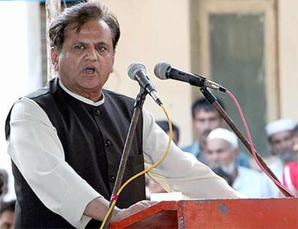 Sonia Gandhi's political advisior Ahmed Patel