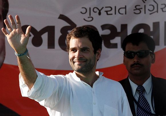'There are only big speeches that Gujarat has changed'
