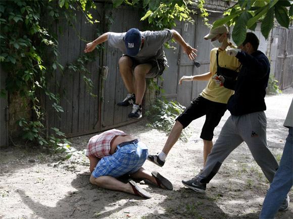 Ukraine: Wild and absurd
