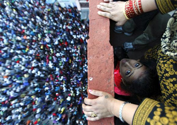 Nepal: Bisket festival