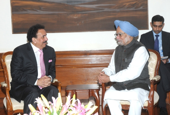Rehman Malik with Prime Minister Manmohan Singh