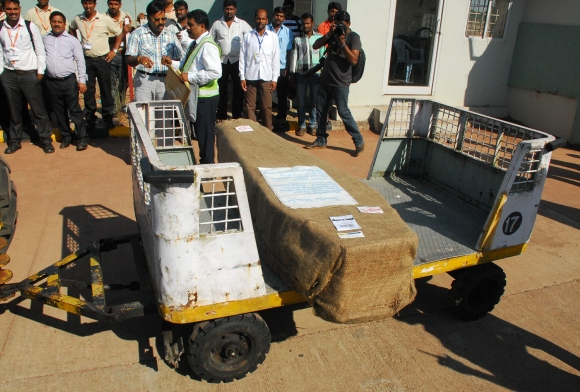 Jacintha Saldanha's body arrives in Mangalore