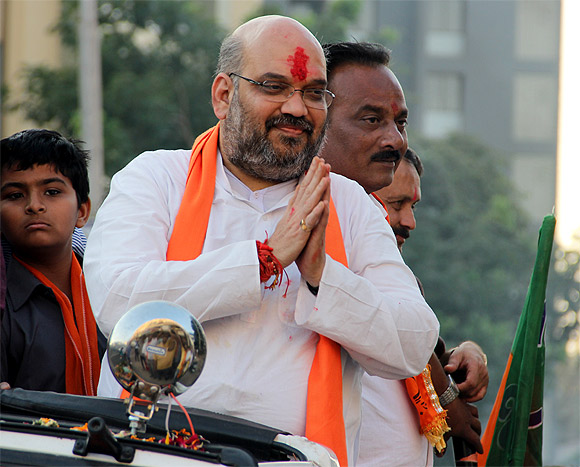 General Secretary incharge of the state Amit Shah