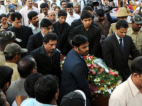 Jacintha Saldanha laid to rest