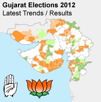 Gujarat Elections 2012 - News and predictions about Gujarat Assembly elections 2012. Sentiment Meter for Gujarat Vidhan Sabha 2012 elections for all the Gujarat Assembly constituencies.