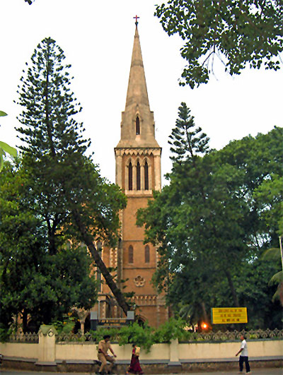 The Afghan Church in Mumbai.