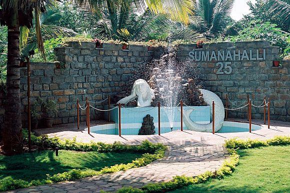 The Sumanhalli Society premises