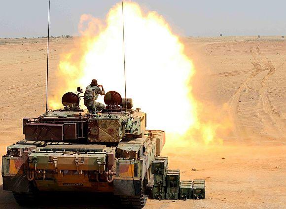 Main Battle Tank Arjun MK-II