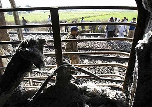 The charred Samjhauta Express