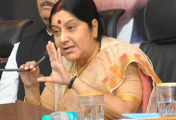 Delhi criminals don't fear cops; rapes occur daily: Sushma