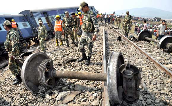 Train mishap in Assam kills 3