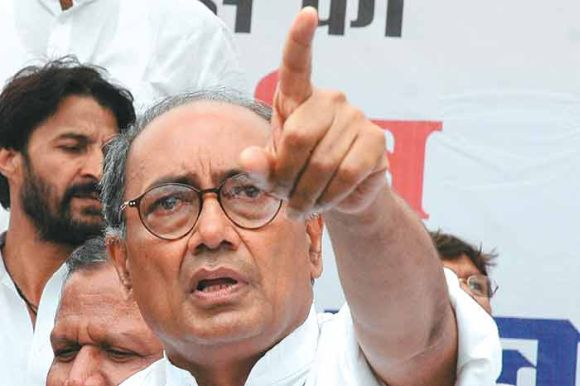 Many blame Congress General Secretary Digvijay Singh for underplaying the importance of Brahmins and trying to give prominence to Muslims and Thakurs in UP