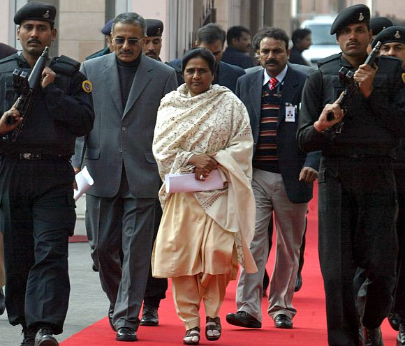 All opponents agree that Mayawati cannot be taken lightly
